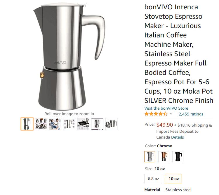 Buy Moka Coffee Pot Amazon