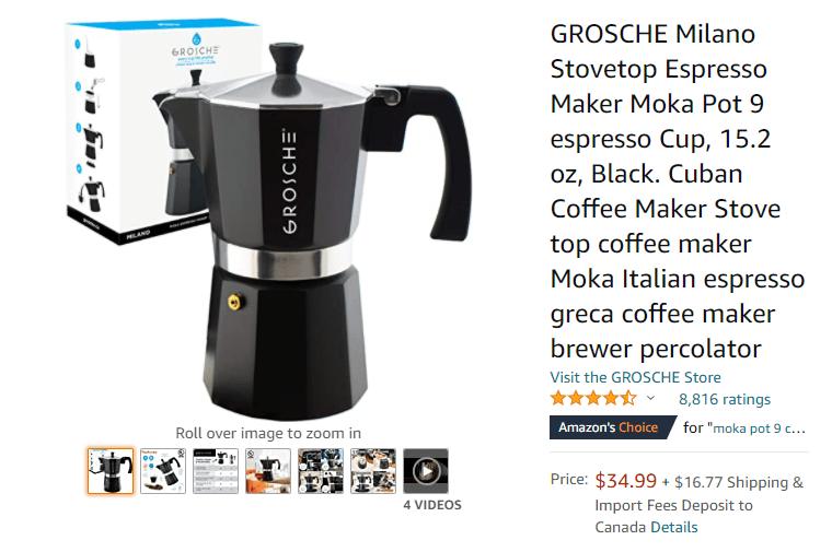 buy stovetop espresso maker