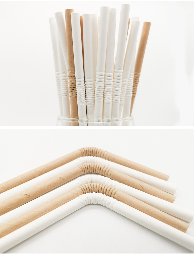 bendable paper straws