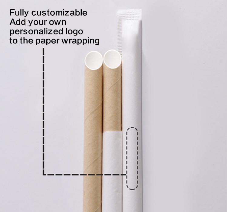 custom paper straws