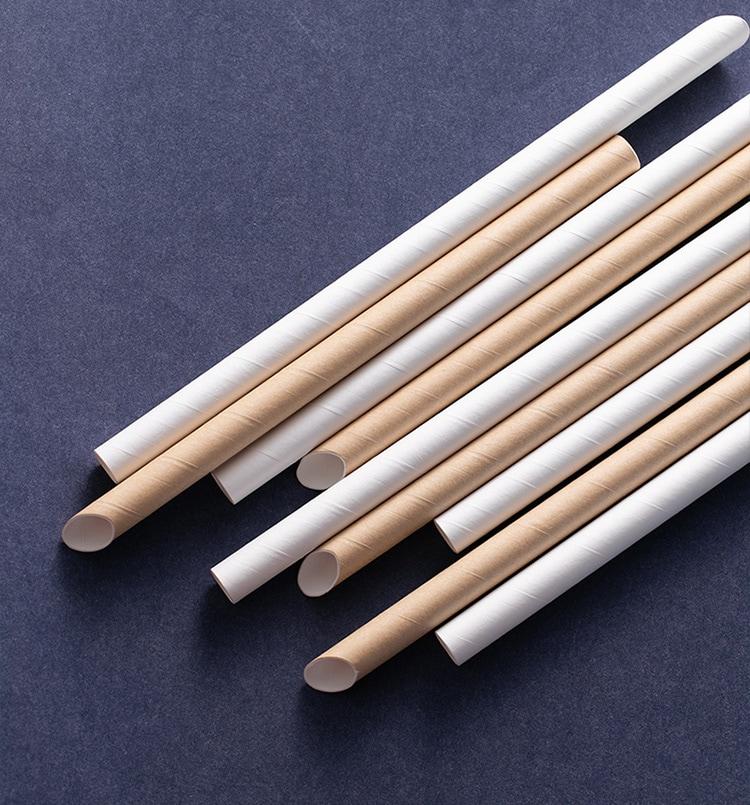 white paper straws gold paper straws
