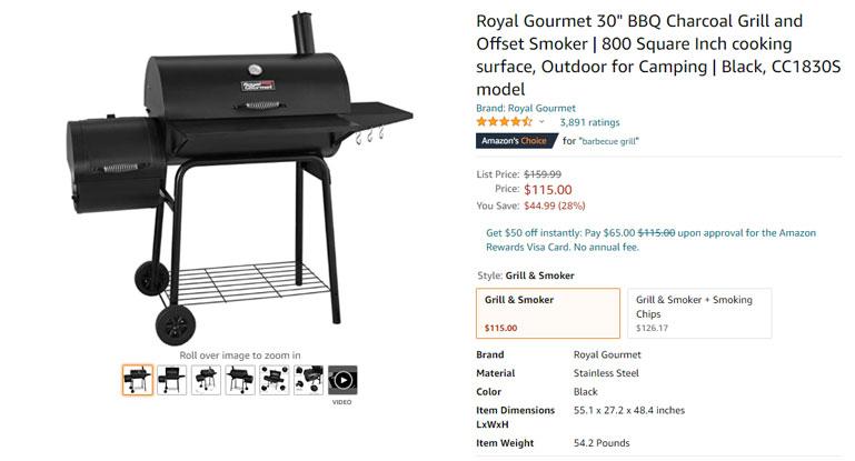 barbecue grill amazon
