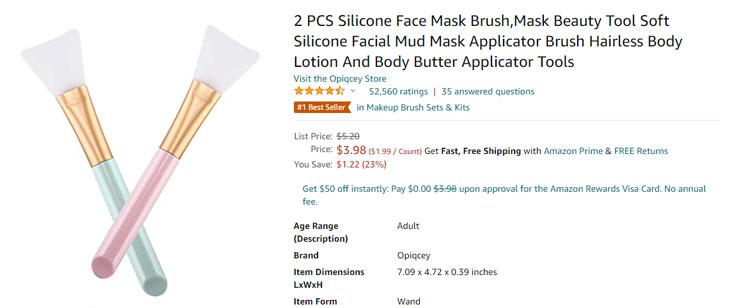face mask brush amazon