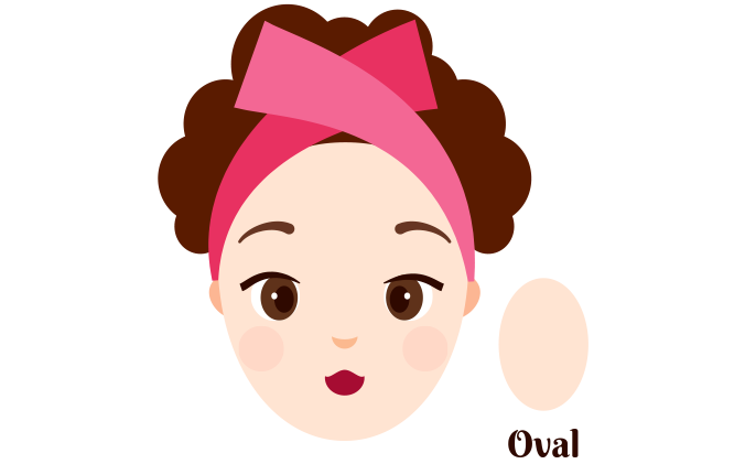Oval-Shaped Face
