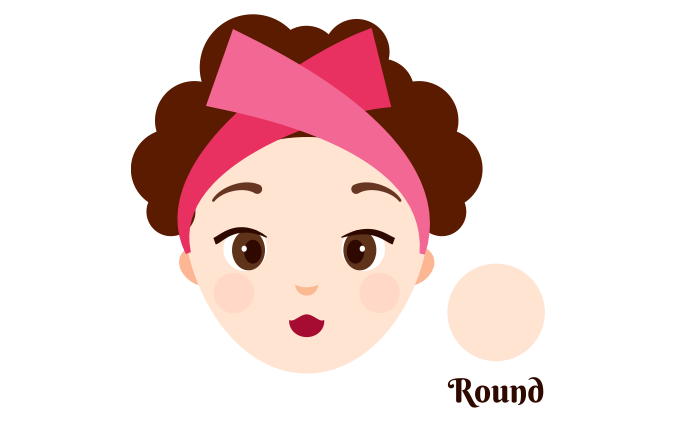 Round-shaped face