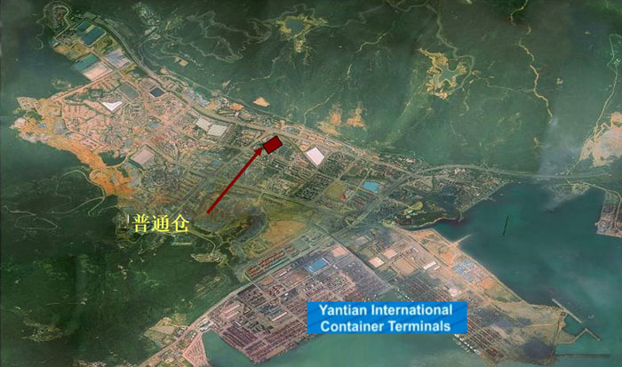 yantian warehouse location